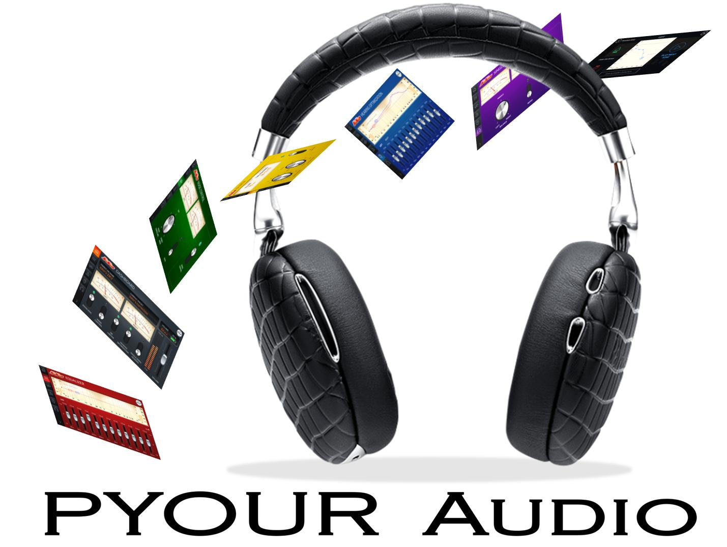 PYOUR Audio headphone and app